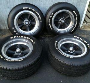 Four Used Vintage American Racing Torque Wheels Thrust Wheels