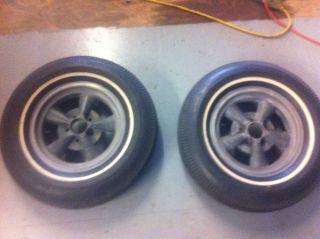 15 x 4 American Racing Magnesium Wheels