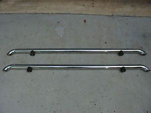 Chevy Silverado GMC Sierra Ford RAM Truck Chrome Tubular Bed Rails 5 Feet