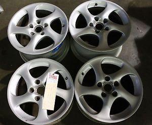 "Porsche 911 996 Turbo Twist BBs 2001 05 Wheels Rims Set 18"" 8x18 11x18 Hollow"