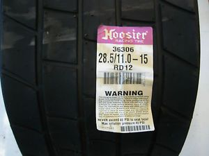 Hoosier Dirt Late Model Sprint Car Tire 28 5 11 15 RD Rocket Mastersbilt Rayburn