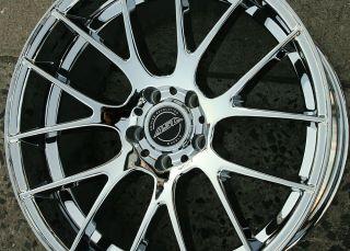 """ASA GT5 20"""" Chrome Rims Wheels BMW x3 04 Up 20 x 10 5H 32"""
