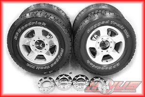 """17"""" Ford F250 F350 Excursion Polished Alloy Wheels BFG BFGoodrich Tires 18"""