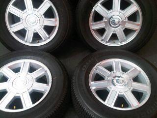 """18"""" Cadillac Escalade GM Chevy Tahoe GMC Factory Wheels Bridgestone Tires"""
