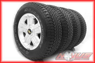 "18"" Chevy Silverado Z71 Tahoe GMC Sierra Yukon Wheels Bridgestone Tires 20"