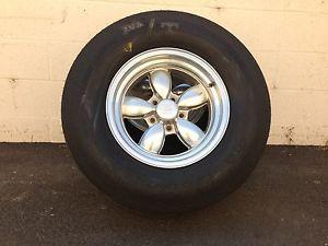 Vintage American Racing 200S Wheels 15x8 MT Et Street Tires Gasser Rat Hot Rod