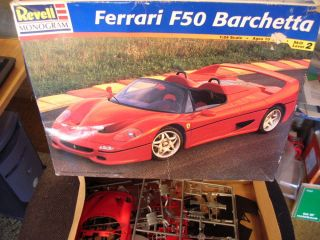 Revell Monogram Ferrari F50 Barchetta Parts Model Kit