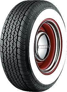 Wide Whitewall Radial Tires
