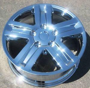 "Set 4 New 20"" Factory Toyota Tundra Chrome Wheels Rims Sequoia LX570 69513"