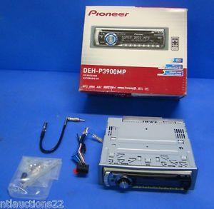 Pioneer DEH P3900MP Super Tuner III Car CD  WMA Player Receiver Aux