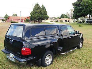 Leer 100R Truck Cap Topper Shell 6 1 2 ft Flareside Bed Black Ford F150