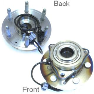 ACDelco FW346 6 Stud Front Wheel Hub Bearing Assembly w ABS Sensor 25918329