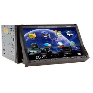 """Double 2Din 7""""Touch Screen Car Stereo DVD Player Radio TV iPod Bluetooth USB SD"""