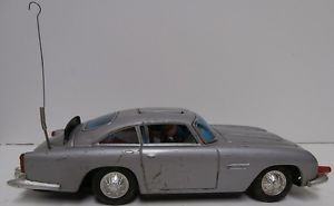 "Vintage Gilbert "" James Bond 007 Aston Martin DB5"" Battery Operated Car"