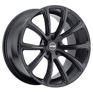 "20"" MRR HR10 Style Matte Black Wheels Rims Fit Acura MDX NSX TL ZDX Infiniti G37"