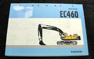 Original Volvo EC240 EC 240 Hydraulic Excavator Parts Catalog Manual