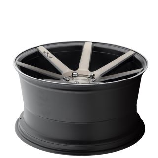 "20"" Niche Verona M150 Black Machined Concave Wheels 20x9 Rims Fits Audi S8"