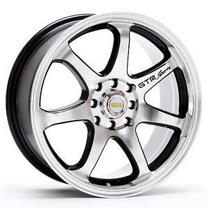 17 inch GTR 708gm Rims and Tires Cadillac Altima Maxima Accord Century Park Ave