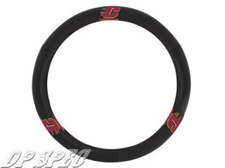 Central Michigan Chippewas Genuine Leather Steering Wheel Cover BMW Jaguar