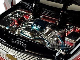 2003 Chevrolet Suburban Red Black 1 18 Model Car