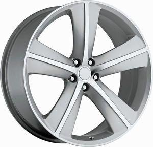 "22"" Dodge Challenger SRT8 Charger Magnum 300C Wheels Rims Tires Package"