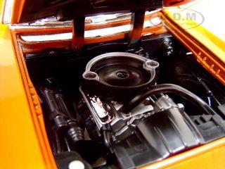 1969 Pontiac GTO Judge Orange 1 18 Diecast Model Car by Motormax 73133