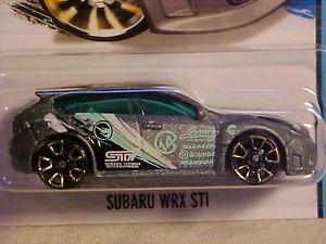 Hot Wheels Regular Treasure Hunt 2014 Subaru WRX STI TH