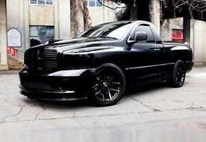 "SRT10 Dodge RAM Black 22"" Wheels Rims Tires Fit Dodge RAM Durango Dakota 5x5 5"