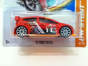 Hot Wheels 2013 Treasure Hunt '12 Ford Fiesta Road Rally HW Stunt 92 250 VHTF