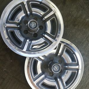 Two Ford 1966 1967 Ford Galaxie 500 Accessory Wheel Covers Hubcaps