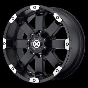 17 inch Black Wheels Rims Dodge RAM 1500 Ford F150 E150 Truck 5x5 5 New ATX