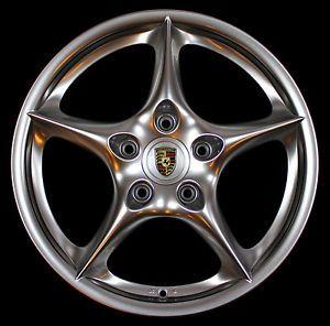 "Porsche 18"" Carrera II 2 4 Wheels Rims Genuine 996 993 928 964 968 944 GT3"