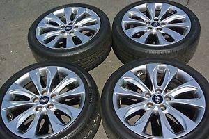 "18"" Hyundai Sonata Factory Wheels Tires Elantra azera Soul Genesis 17 19"