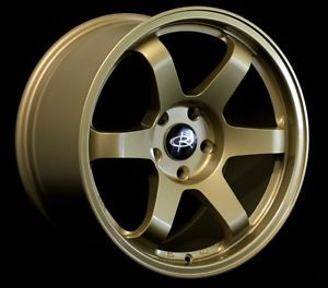 17x9 0 Rota Grid Wheels 5x100 Rims ET42MM Fits Subaru WRX 07 08 09