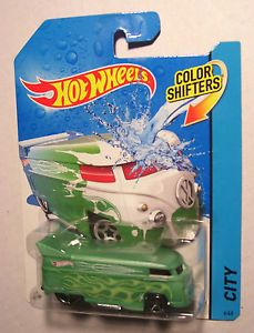 2013 Hot Wheels VW Drag Bus Color Shifters Volkswagen