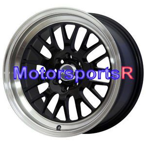 16 16x8 20 XXR 531 Black Wheels Rims Deep Dish 4x100 90 91 96 00 05 Mazda Miata