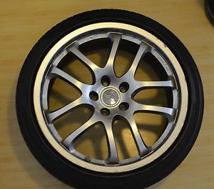 "Infiniti G35 Rays Factory Stock 19"" Wheels Rims Tires TPMS Center Caps 4"