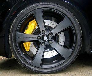 Gemballa Porsche Cayenne Black 22 inch Wheels and Tires