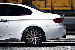 "20"" Lexus GS300 GS400 GS430 Roderick RW6 Concave Black Staggered Wheels Rims"