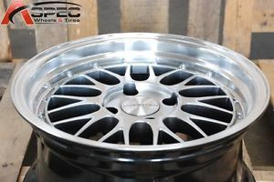 16x8 Varrstoen V4 4x100 25 Silver Wheel Fit Miata Del Son CRX Civic Scion XA XB