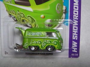 Hot Wheels Customized VW Drag Bus