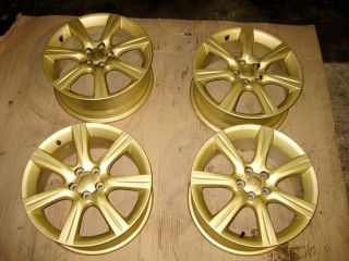 "4 JDM Subaru 17"" Mag Wheels Alloys Enkei Subaru B65 5x100 17""X7JJ 55 Golden Rims"