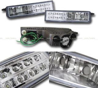 Toyota BB Scion XB Front Crystal Fog Lamp with LED Daytime Light JDM