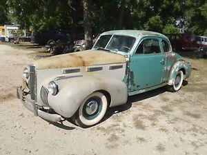 RARE 1940 Cadillac LaSalle 5 WDW Coupe Original Last yr Rat Rod Parts Restore