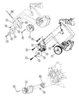 Mopar Power Steering Pump Pulley Dodge Viper Jeep Grand Cherokee Wrangler