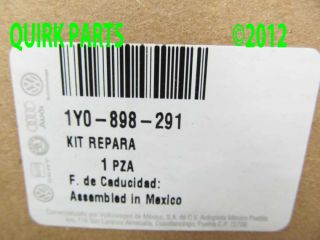 03 10 VW Volkswagen Beetle Convertible Rear Left Window Regulator Repair Kit