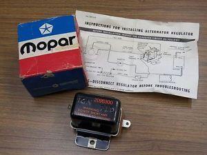 Chrysler Dodge Mopar Plymouth 2098300 Voltage Regulator 1961 1969 New Parts