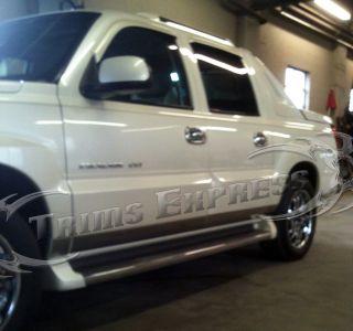 2002 2006 Cadillac Escalade Ext Pickup Rocker Panel Trim Body Side Moulding