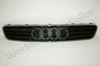 Audi A3 96 03 Grill Grille Chrome Black 97 98 99 00