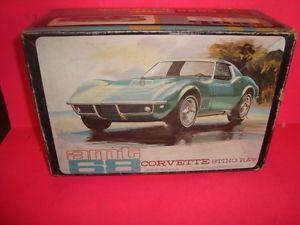 1 25 Scale Model Car Parts AMT 1968 Chevy Corvette